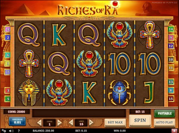 online casino real money ra game