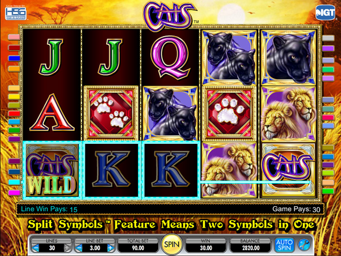cats slot machines free online