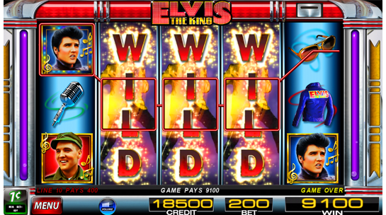 elvis slot machine online