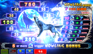Howling wolf slot game card hands for poker