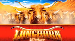 longhorn deluxe slot machine